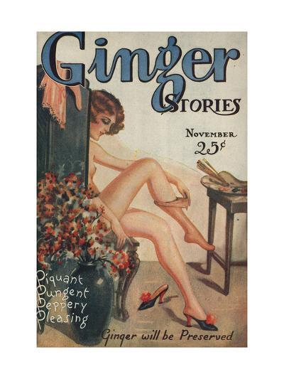 Ginger Stories, Erotica Pulp Fiction Magazine, USA, 1927--Giclee Print