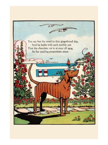 Gingerbread Dog-Eugene Field-Art Print
