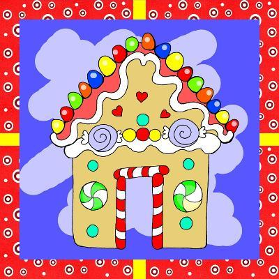 Gingerbread House-Valarie Wade-Giclee Print