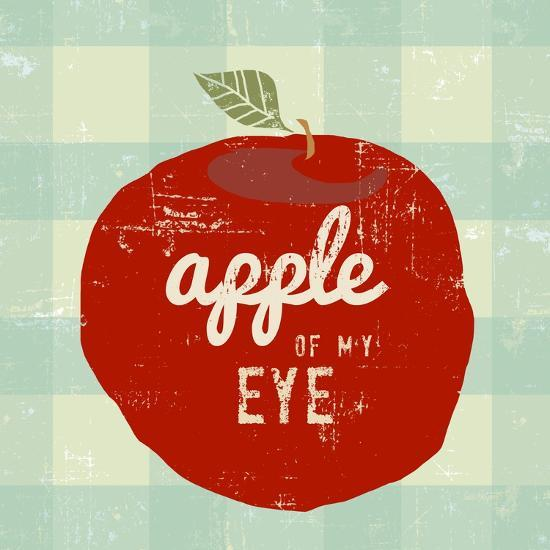 Gingham Apple-Lola Bryant-Art Print