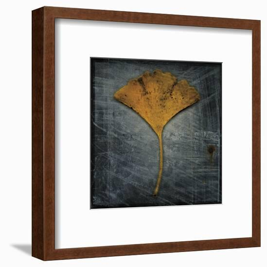 Gingko 2-John W^ Golden-Framed Art Print