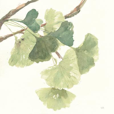 Gingko Leaves I Light-Chris Paschke-Art Print