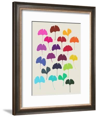 Ginkgo 1-Garima Dhawan-Framed Art Print