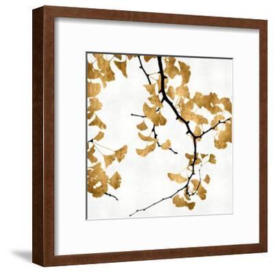 Ginko in Gold II-Kate Bennett-Framed Giclee Print