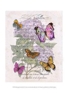 Hydrangea Butterflies II by Ginny Joyner