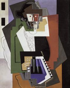 The Accordion Player by Gino Severini