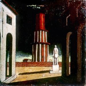 Chirico: Grand Tour, 1914 by Giorgio De Chirico