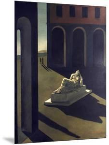 Chirico: Melancolie, 1914 by Giorgio De Chirico