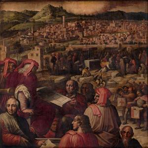 Arnolfo Di Cambio Shows the Plan to Enlarge Florence, 1563-1565 by Giorgio Vasari