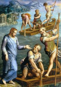 Calling of St. Peter and St. Andrew by Giorgio Vasari