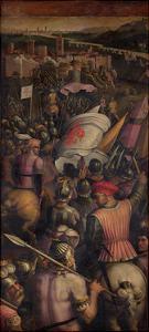 Capture of Cascina, 1563-1565 by Giorgio Vasari