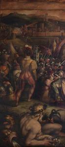 Capture of Vicopisano, 1563-1565 by Giorgio Vasari