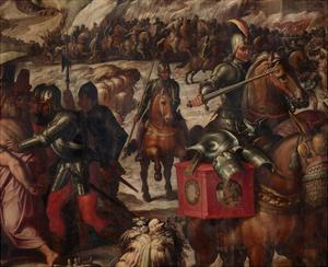 Defeat of the Venetians in Casentino, 1563-1565 by Giorgio Vasari