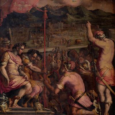 Foundation of Florentia, a Roman Settlement, 1563-1565