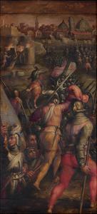 The Battle of Barbagianni Near Pisa, 1563-1565 by Giorgio Vasari