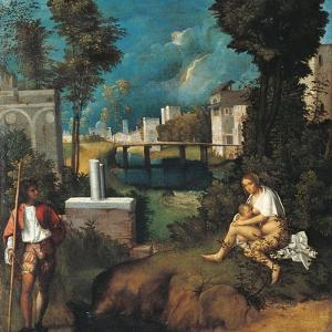The Tempest by Giorgione da Castelfranco