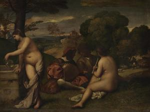 Pastoral Concert, C. 1510 by Giorgione