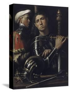 Portrait of a Man in Armor with His Page by Giorgione