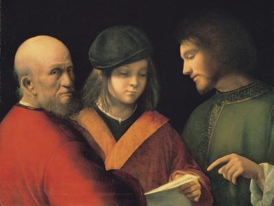 The Three Ages of Man (Reading a Son), C. 1501