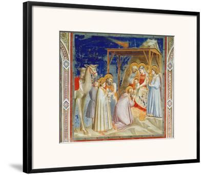 Giotto: Adoration-Georges Braque-Framed Giclee Print