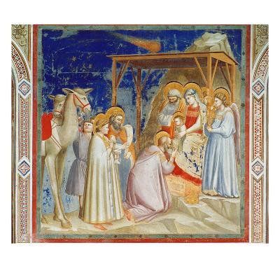 Giotto: Adoration-Giotto di Bondone-Giclee Print