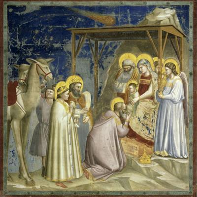 Adoration of the Kings, c.1303-10