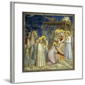 Adoration of the Kings, c.1303-10 by Giotto di Bondone
