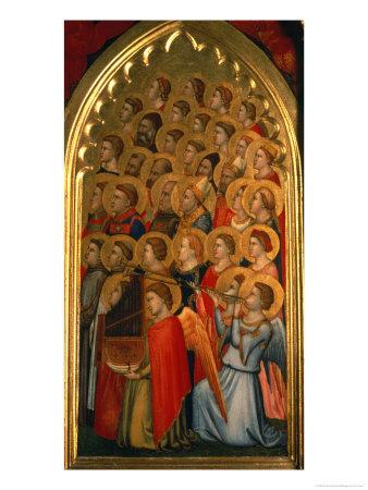 Angels from the Coronation of the Virgin Polyptych