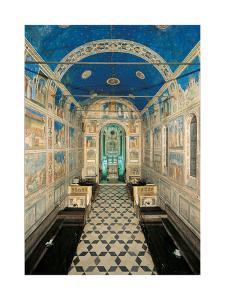 Fresco Cycle in the Scrovegni Chapel by Giotto di Bondone