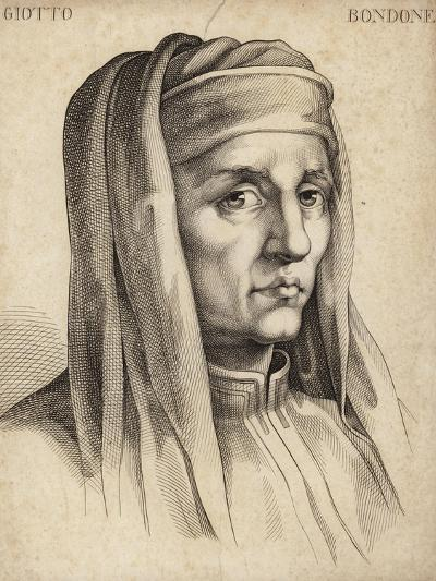 Giotto Di Bondone, Italian Painter and Architect-Giotto di Bondone-Giclee Print