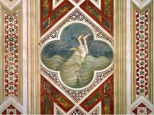 Jonah and the Whale, circa 1305 by Giotto di Bondone