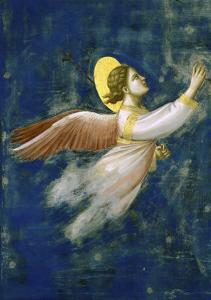Joseph's Dream, Detail by Giotto di Bondone