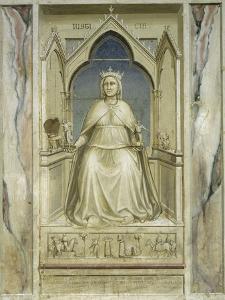 Justice by Giotto di Bondone