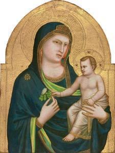 Madonna and Child, C.1320-30 by Giotto di Bondone