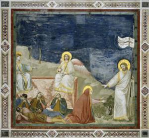 Noli Me Tangere by Giotto di Bondone
