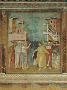 St. Francis Renounces His Father's Earthly Wealth by Giotto di Bondone
