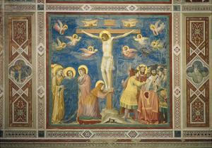 Stories of the Passion the Crucifixion by Giotto di Bondone