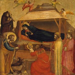 The Adoration of the Magi, c.1320 by Giotto di Bondone