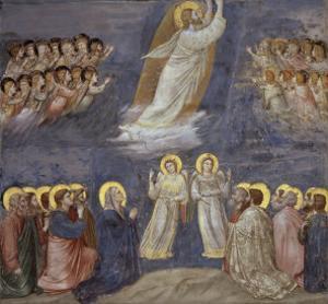 The Ascension by Giotto di Bondone