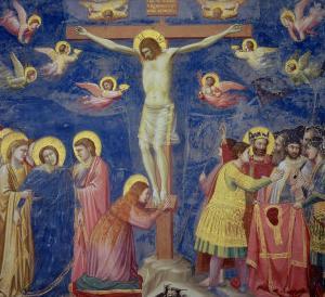 The Crucifixion, circa 1305 by Giotto di Bondone
