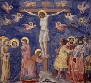 The Crucifixion by Giotto di Bondone