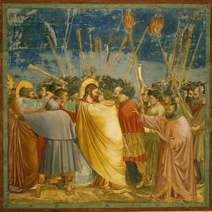 The Kiss of Judas by Giotto di Bondone