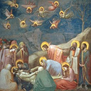 The Lamentation of Christ, circa 1305 by Giotto di Bondone