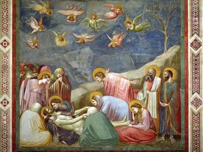 The Lamentation of the Dead Christ, circa 1305