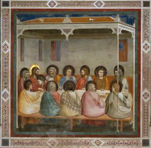 The Last Supper by Giotto di Bondone