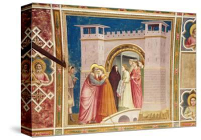 The Meeting of Joachim and Anne at the Golden Gate, C.1305