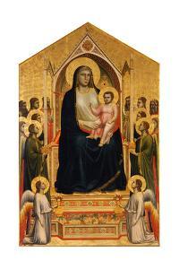 The Ognissanti Madonna, Ca 1310 by Giotto di Bondone