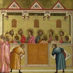The Pentecost, C. 1315 by Giotto di Bondone