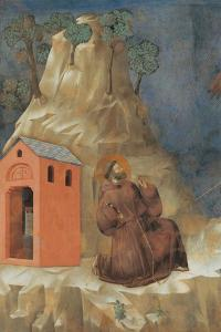 St. Francis Receiving Stigmata by Giotto