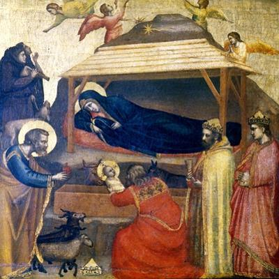The Epiphany, C1230 by Giotto